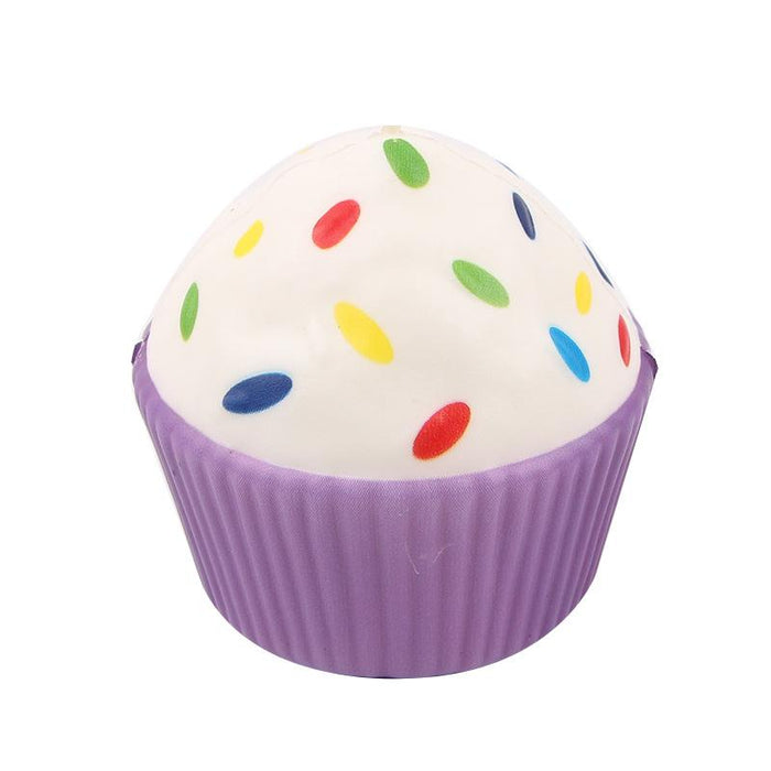 Silly Squishy - Kawaii Korean Japanese Color printing slow rebound cupcakes Squishy