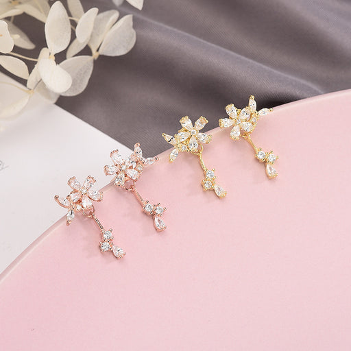 Kawaii  Japanese  Korean  -S925 sterling silver stud earrings