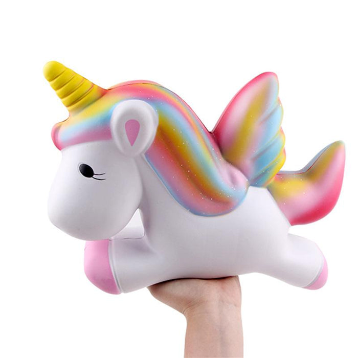 Silly Squishy - Kawaii Korean Japanese Slow Rebound Big Pegasus Squishy