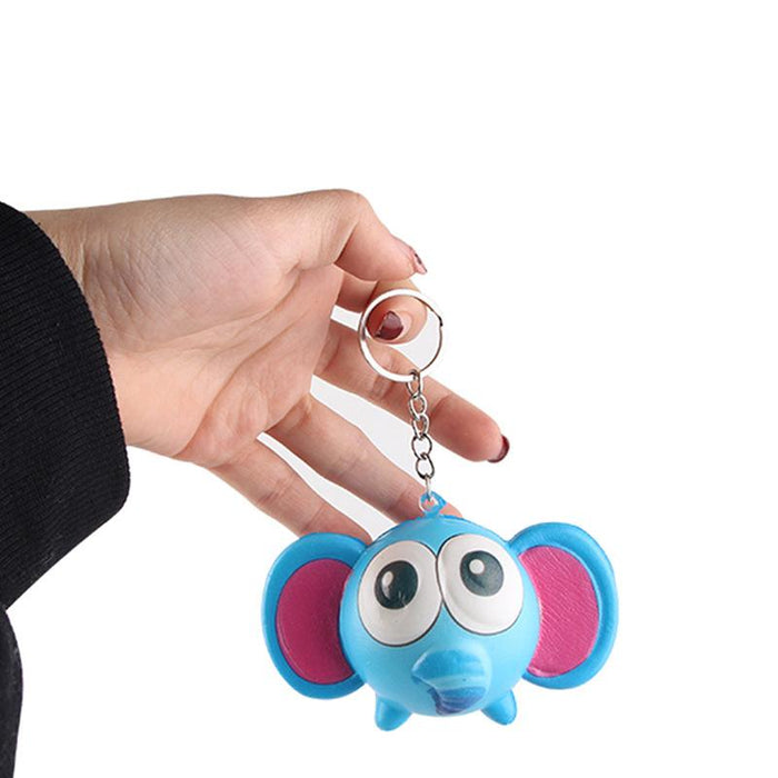 Silly Squishy - Imitation animal key pendant Squishy