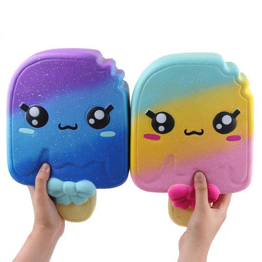 Silly Squishy - Kawaii Korean Japanese Color Ice Cream Pu Slow Rebound Decompression Toy Squishy