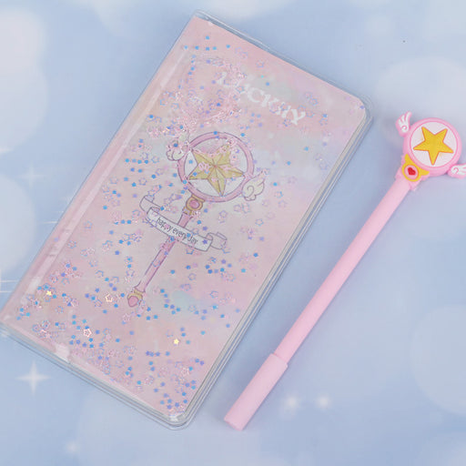 Summer Beauty Girl Water Notebook Creative Stationery Diary Student Gift Notebook Journal