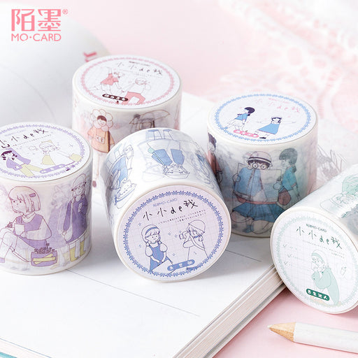 Kawaii Korean Japanese Girly Cute  Fairytale Washi Tape Set