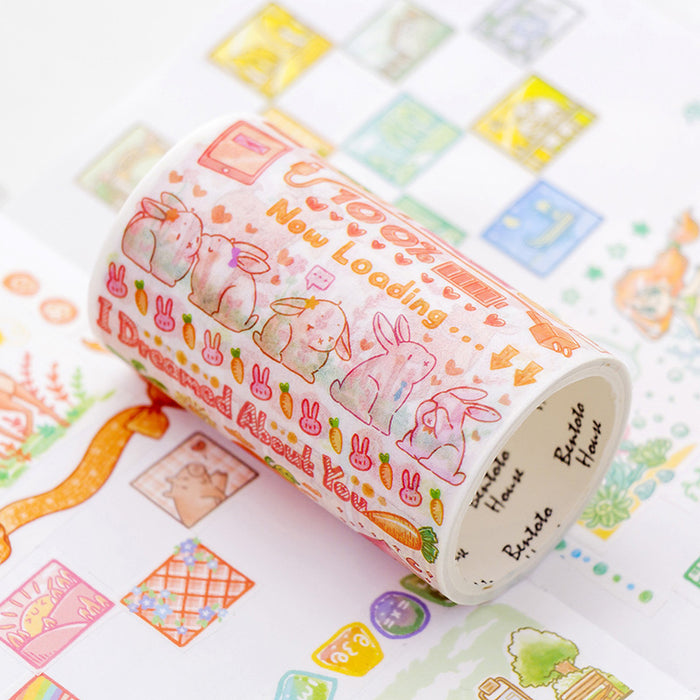 Sakura Washi  Cat Washi   Flower Washi  Floral Washi Cherry Blossoms Washi Tape Bloomsical Christmas Washi Tape 2019 Release