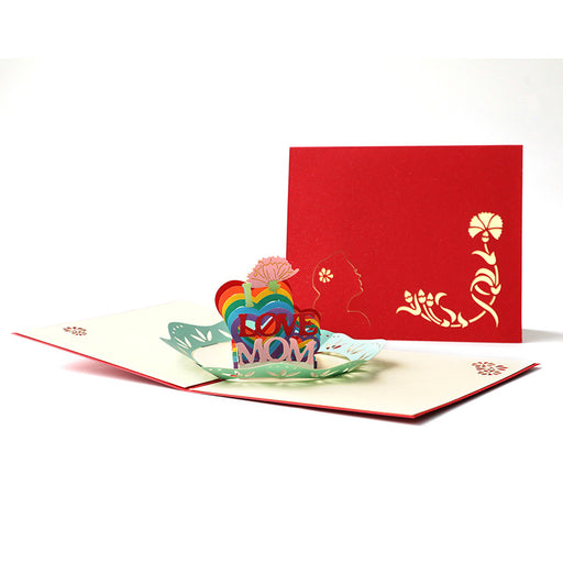 Kawaii Japanese Korean Etiquette Teacher's Day greeting card creative blessing handmade thank you card