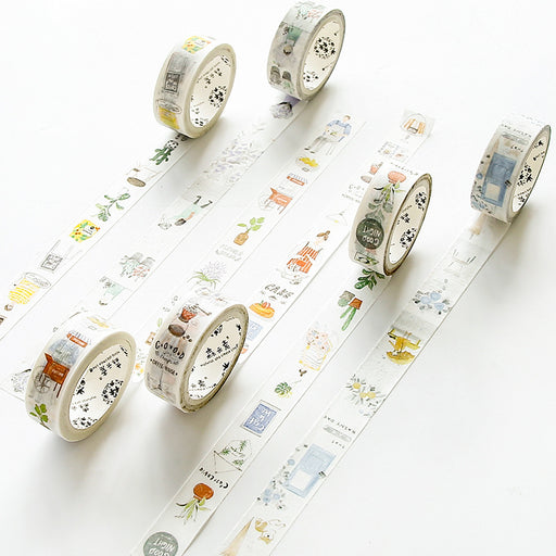 Classiky Floral Washi  Sanrio Washi Tapes Gudetama Cinnamoroll My Melody Little Twin Stars Hello Kitty Deco Tapes