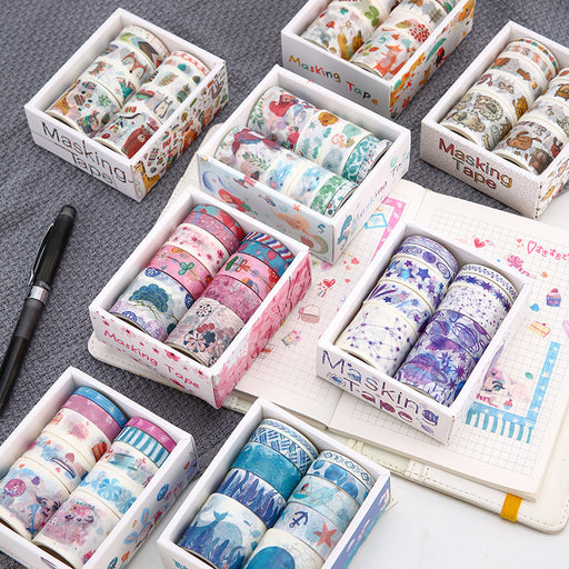 Constellations Washi Tape Set Galaxy Washi Tape Gold Foil Washi Sakura Washi  Cherry Blossom Washi Space Washi  Nightshade Remix Washi Tape