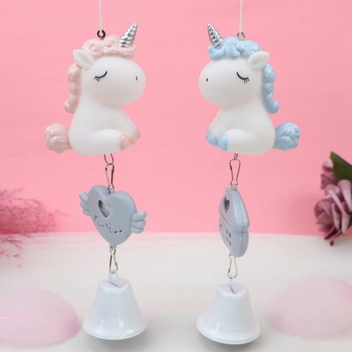 Kawaii  Japanese  Korean  Unicorn scented wind chime pendant gift