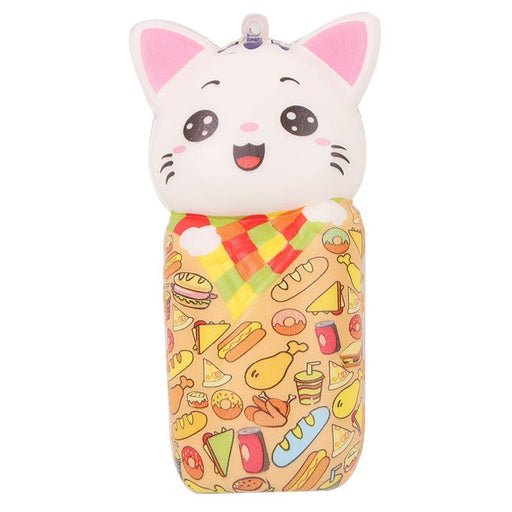 Silly Squishy - Kawaii Korean Japanese Toy Color Printing Cat Simulation Animal Slow Squishy