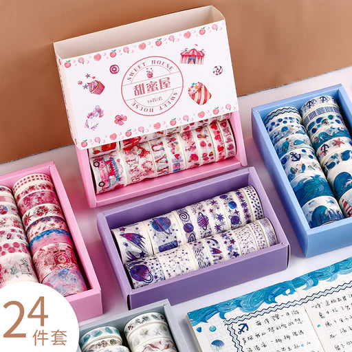 Mr. Paper Starry Hand Account And Paper Tape Gift Box