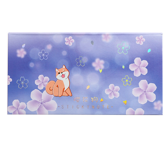 Kawaii Japanese Korean Girl Heart Can Tear Starry Sky Note Paper Sticker Box