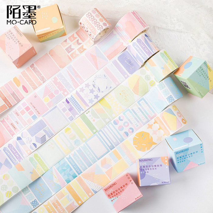 Kawaii Korean Japanese Fruit Girl Strawberry Peachy Memo Washi Tape
