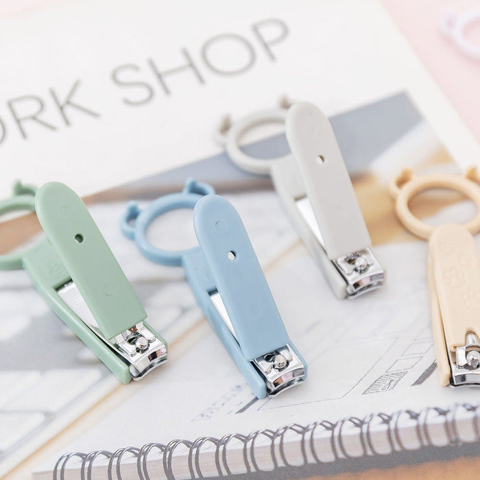 Kawaii  Japanese  Korean  Portable multifunctional mobile phone holder nail clippers nail clippers