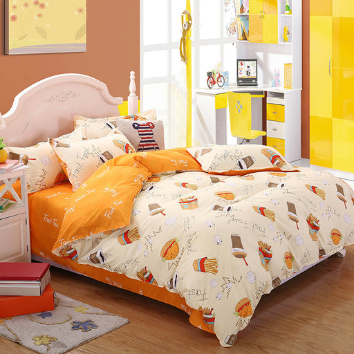 Student Dormitory Sheets Four-Piece Bedding