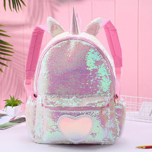 Kawaii  Japanese  Korean  Unicorn backpack cute cartoon casual shoulders