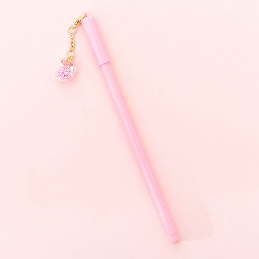 Kawaii Korean Japanese Little Fairy Cute Girl Heart Neutral Net Red Pendant Pen
