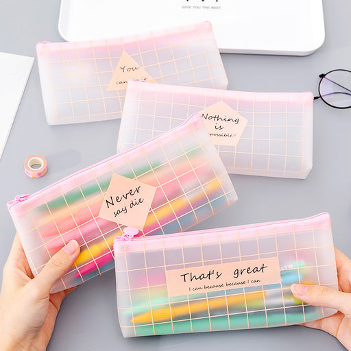 Kawaii  Japanese  Korean Pink pencil case school supplies organize pencil case cute pencil case