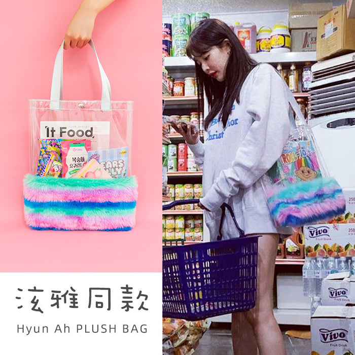 Hyun pile shoulder bag