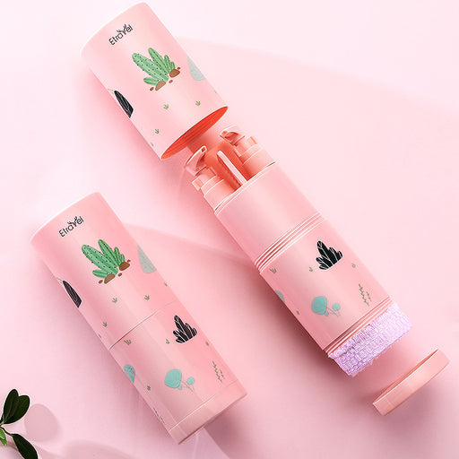 Kawaii  Japanese  Korean  Bottled toothbrush and towel wash combo set