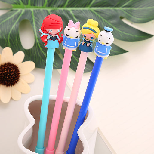 Kawaii Japanese Korean  Mermaid gel pen cartoon Donald duck pen japanese pens
