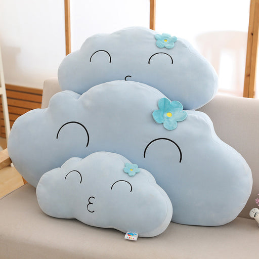Kawaii  Japanese  Korean -Girl ins pink cute cloud pillow