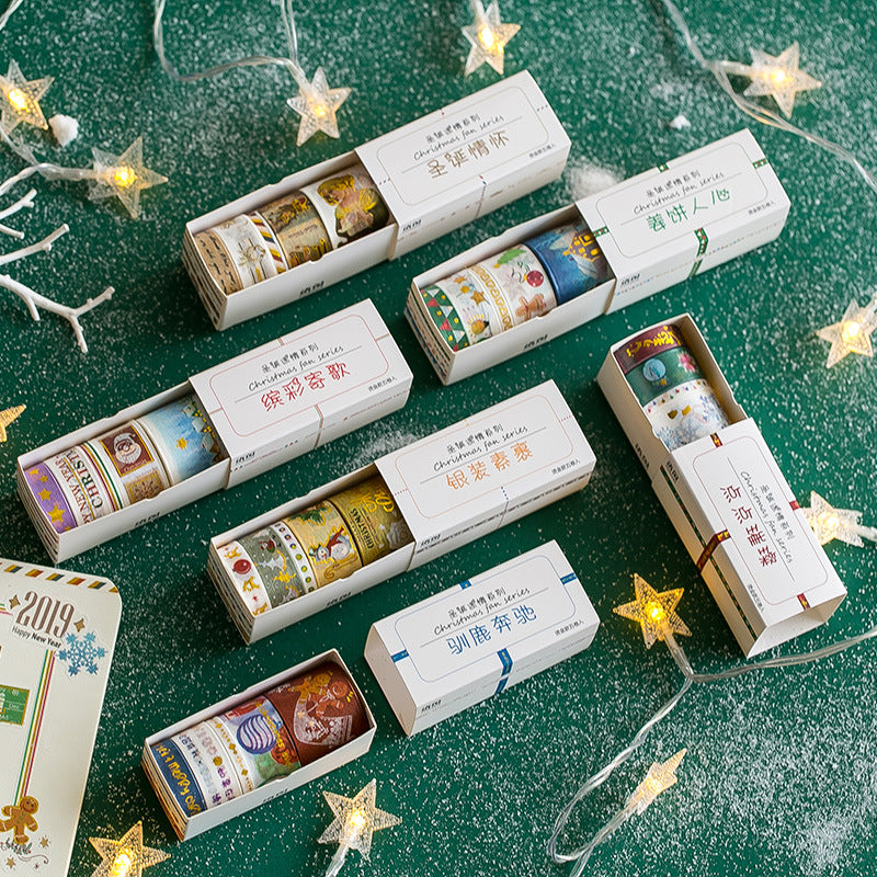 Chirstmas Washi Tape Packs