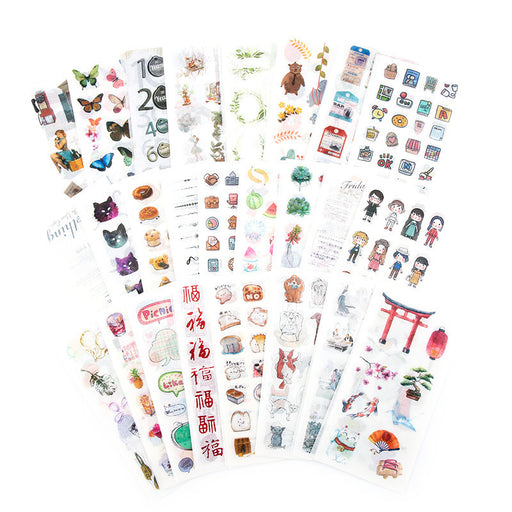 Sanshihe paper stickers of the original heart is still a series of  creative student hand account material decorative stickers