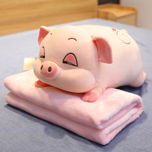 Kawaii  Japanese  Korean -Cute pig hamster sleeping pillow