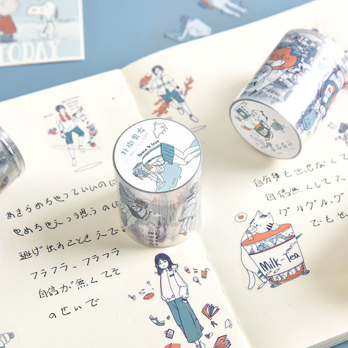 Kawaii Korean Japanese  Girly  Love Washi Tape Set