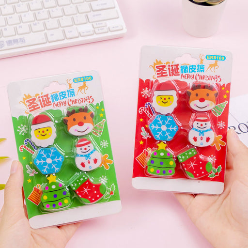 Kawaii  Japanese  Korean  Christmas gift gift eraser