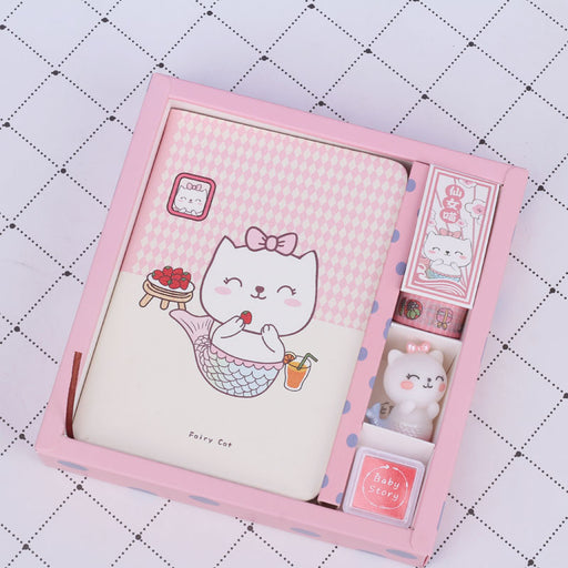 Creative Gift Fairy Pointing Seal Hand Book Cartoon Notebook Journal