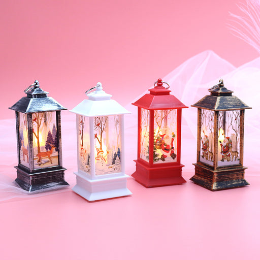 Kawaii  Japanese  Korean - Christmas desktop glowing portable small oil lamp