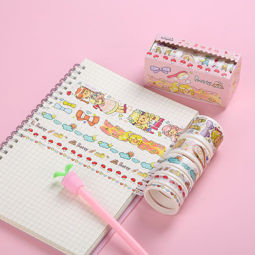 Kawaii  Japanese  Korean Hack small daily hand account diary DIY decorative paper tape
