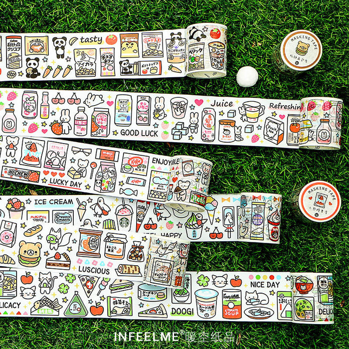 Kawaii Korean Japanese Girly Cute  Diary Washi Tape Set