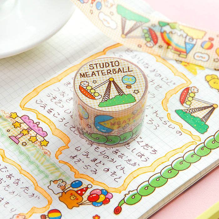 Kawaii Korean Japanese Girly Hello Summer Washi Tape Set