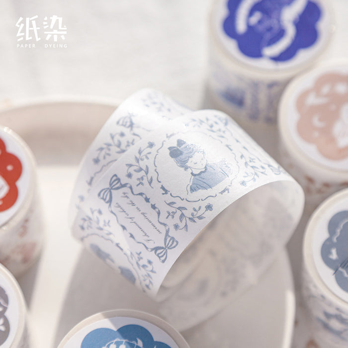 Kawaii Korean Japanese Girly Fantacy  Retro Fairytale Washi Tape Set