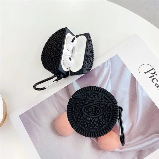 Aesthetic Spoof Oreo Cookie Wireless Headset Case