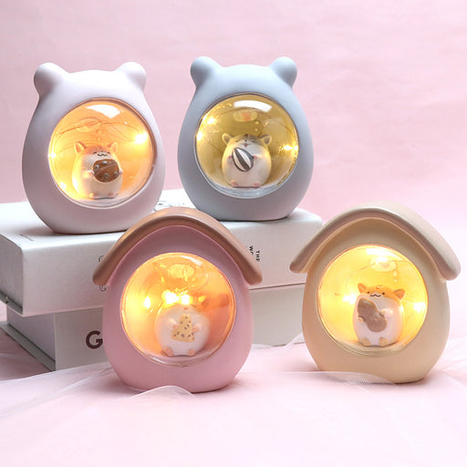 Kawaii  Japanese  Korean -cat chibi light birthday present