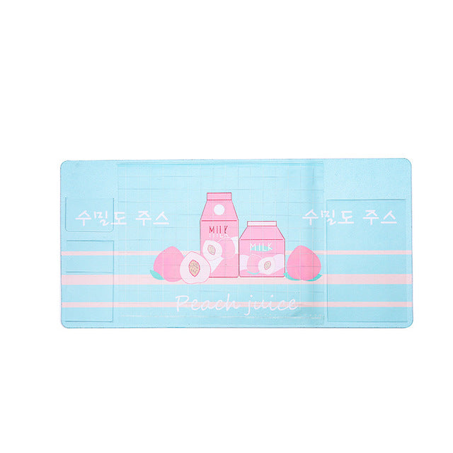 Cute Japanese and Korean multifunctional computer pad PVC waterproof mouse pad