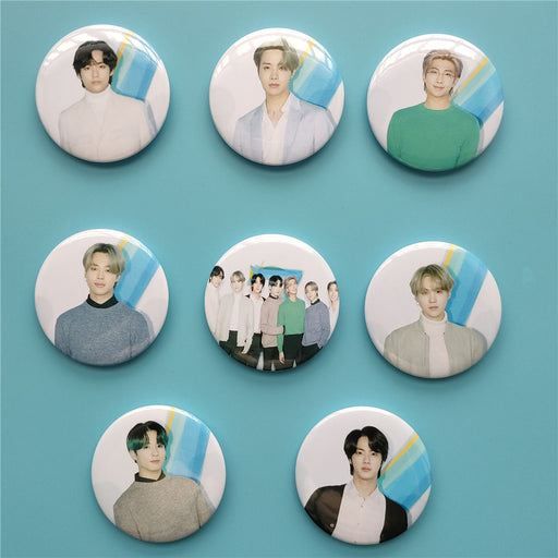 BTS Badge, BTS Pins,  Pinback, Buttons