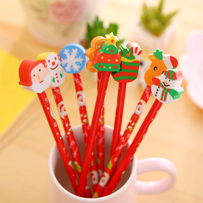 Kawaii  Japanese  Korean  Cartoon christmas pencil