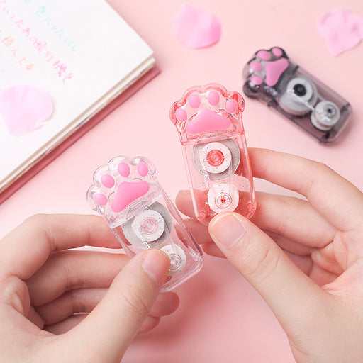 Kawaii  Japanese  Korean  girl heart cat claw correction tape correction tape