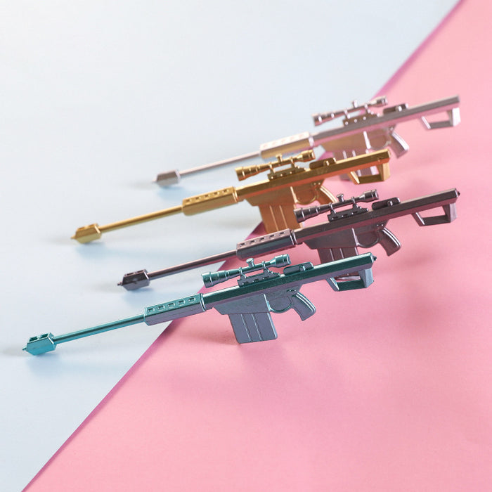 Cute creative 98k sniper gun gel pen children's toy weapon pen personality signature pen student prize gift