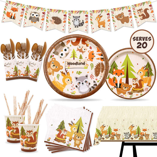 Kawaii  Japanese  Korean Forest Animal Party/WOODLAND Zoo Party