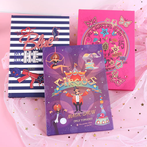 Kawaii  Japanese  Korean  A5 Christmas LED light-emitting Notebook,cute journals