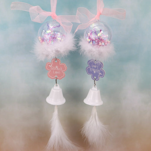 Kawaii  Japanese  Korean Lovely Sakura's Whispering Fragrance Wind Chime Hanging