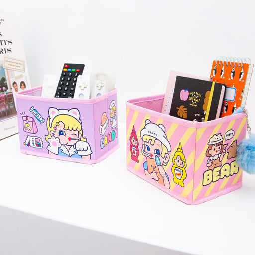 Bang bang receive box lovely desktop receive basket girls soft-hearted younger sister students receive basket