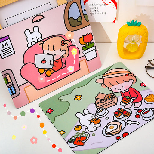 Kawaii Japanese Korean cartoon cute mouse pad