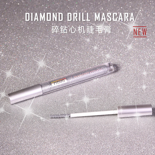 Kawaii  Japanese  Korean NOVO crushed and drilled mascara / quick-drying, long-lasting, waterproof and long-lasting curling fairy makeup