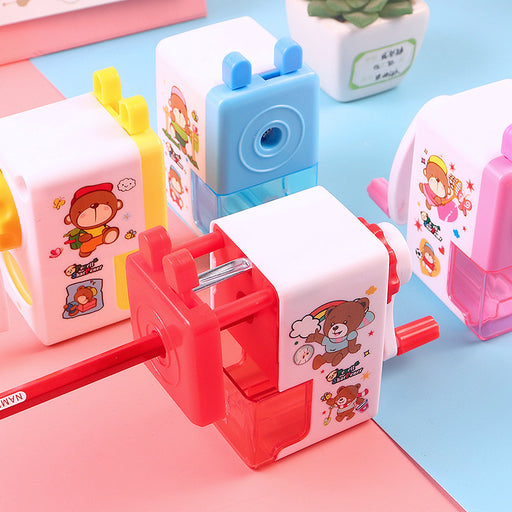 Cute Japanese and Korean cartoon bear pencil sharpener